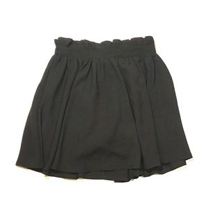 Dresses & Skirts - Black Paperboy Mini Skirt w Shorts